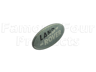 Oval Land Rover Badge -  -