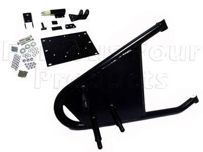 FF009638 - Swing Away Wheel Carrier for Hard Top vehicles - Land Rover 90/110 and Defender