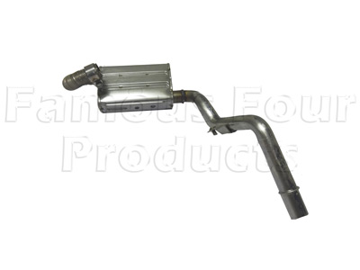 Picture of FF009644 - Exhaust Pipe and Silencer - Auxiliary Fuel Burning Heater