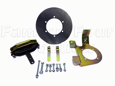 FF009670 - Disc Conversion -  Handbrake - Land Rover Series IIA/III