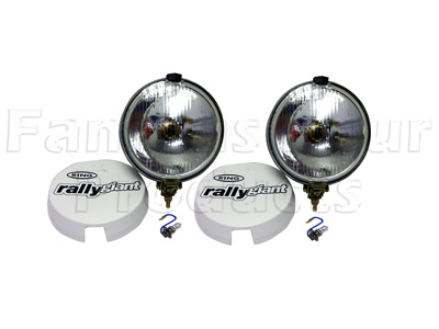 Rally Giant Driving Lamps with Covers