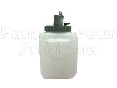 Washer Bottle With Cap and Pump