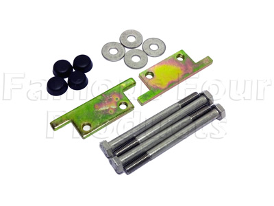 Picture of FF009925 - Front Bumper Bolt Plate Kit