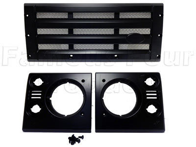 Picture of FF010030 - Front Grille and Headlight Surround Upgrade Kit