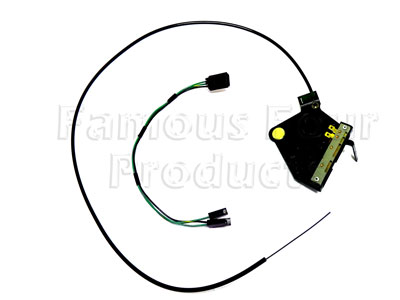 Picture of FF010078 - Heater Control Lever Assembly