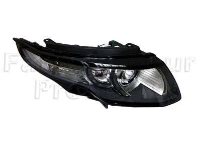 Picture of FF010141 - Headlamp with Indicator - Clear Glass