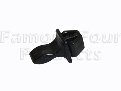 Catch for Drop Down Rear Number Plate Bracket Fixing - Male