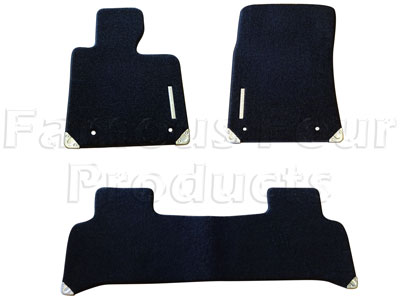 Picture of FF010252 - Footwell Carpet Overmat Set