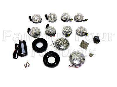 Clear Lens Light Kit - LED -  -
