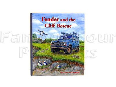 Fenders and the Cliff Rescue - Childrens Story Book - Sequel to