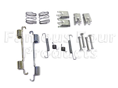Picture of FF010273 - Fitting Kit for Handbrake Shoe Set