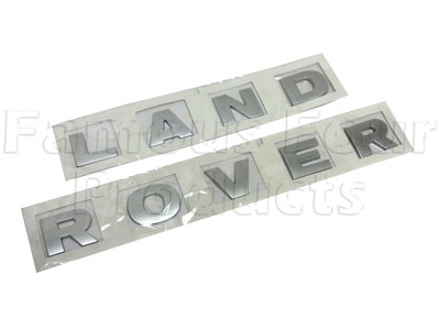 Picture of FF010323 - LAND ROVER Bonnet Decal