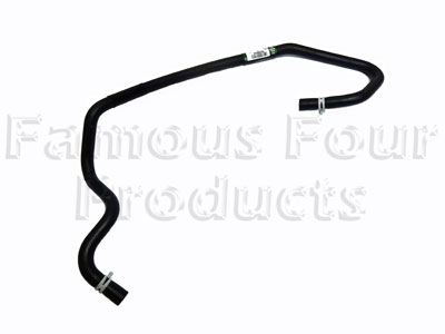 Cooler to Thermostat Hose -  -