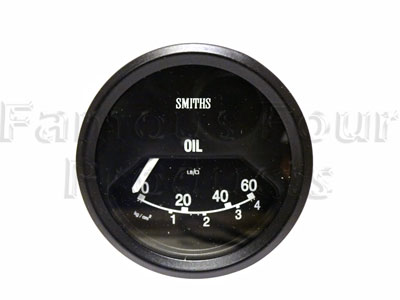 Picture of FF010409 - Oil Pressure Gauge - Smiths
