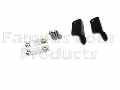 Picture of FF010458 - Hinge Bracket Kit  for drop-down rear tailgate