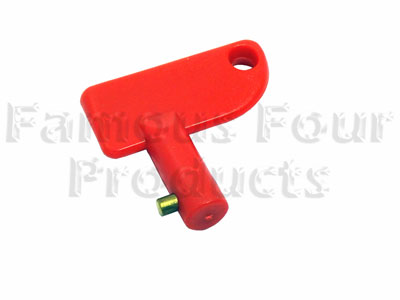 Key ONLY For Battery Isolator Switch - Land Rover and Range Rover