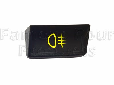 Hooded Warning Light - Rear Fog Light