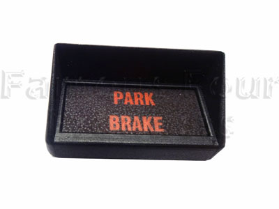 Hooded Warning Light - Park Brake