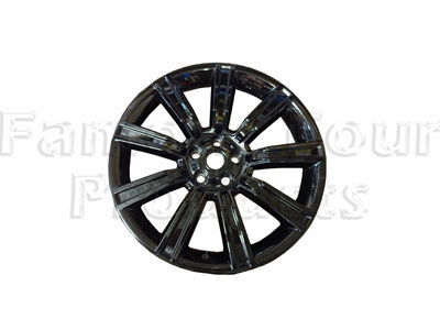 Alloy Wheel - Gloss Black -  -