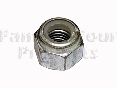 Nyloc Nut - Chrome Ball to Axle Casing