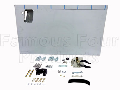 Rear End Half Door Conversion Kit