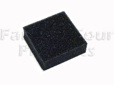Foam Energy Absorbing Pad for Fuel Filter