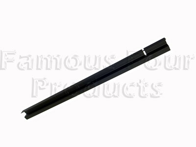 Front Door Window Channel - Plastic Filler Piece -  -