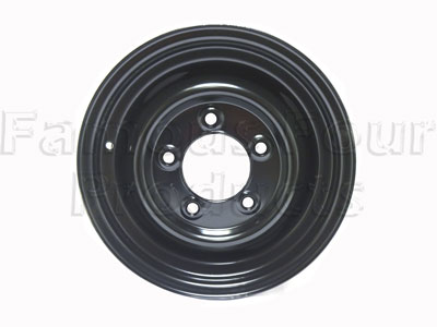 Standard Steel Wheel 5.5x16 - Tubeless Type
