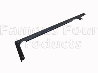 Rear Body Side and End Top Capping - Black Metal -  -
