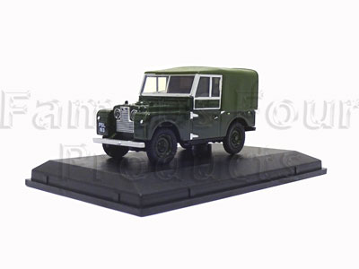 1/43 Scale Model - Land Rover Series One