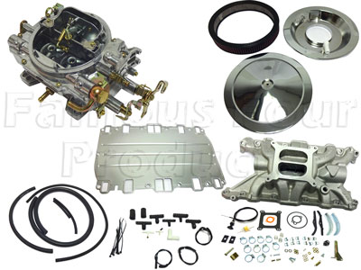 Weber 4 Barrel Carburettor Performance Kit - V8 -  -