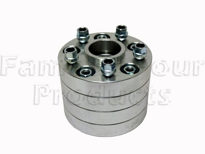 Wheel Spacer - 30mm - With nuts