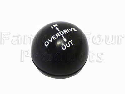 Picture of FF011281 - Fairey Overdrive Knob (Black)