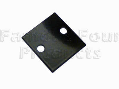 Retaining Plate for Corrugated Rubber Floor Seal