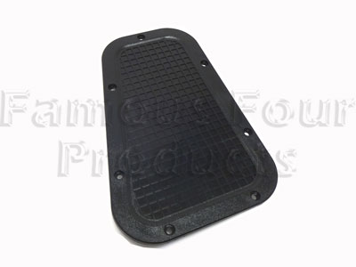 Top of Wing Blanking Finisher Grille -  -