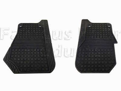 Footwell Rubber Mats - Front