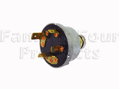 FF011375 - Ignition Switch - Diesel Engined Vehicles - Land Rover Series IIA/III