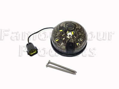 LED Front Side Light  - 3 inch diameter -  -
