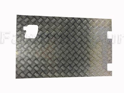 90/110 Chequerplate Rear End Door External Protector Sheet -  -