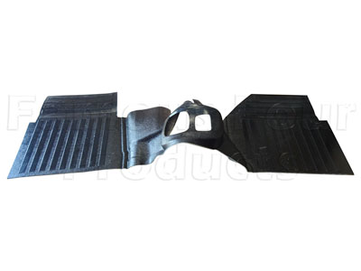 Front Footwell and Transmission Tunnel Base Floor Mat Assembly -  -