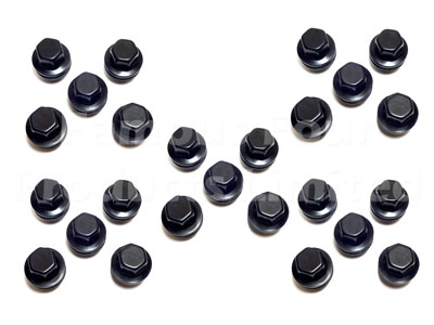 Wheel Nuts for Alloy Wheels - Satin Black -  -