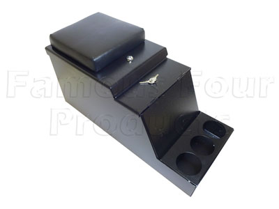FF011483 - Centre Cubby Security Box - Lockable - Land Rover 90/110 and Defender