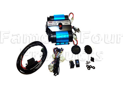 Compressor - Twin - Vehicle Mounted - 12V -  -