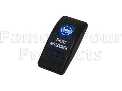 Cover for Front Air Locker Dashboard Switch -  -