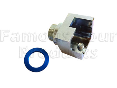 FF011620 - Anti-Theft Lock Guard - Ignition Switch - Land Rover 90/110 and Defender