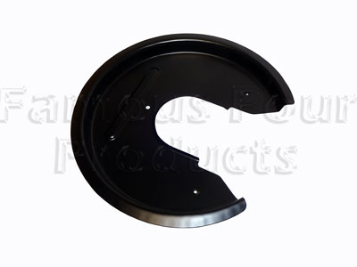 Rear Brake Disc Shield -  -