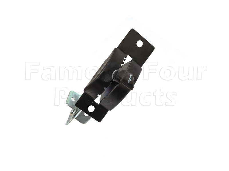 FF011825 - Control Lever Assembly for Bulkhead Vent Flap - Land Rover Series IIA/III