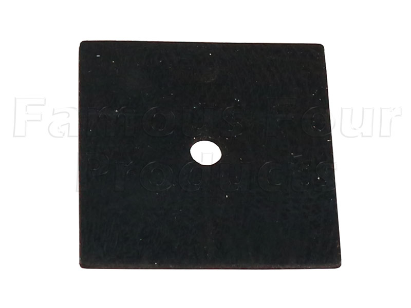 Pad - Front Bumper End Cap Bracket -  -