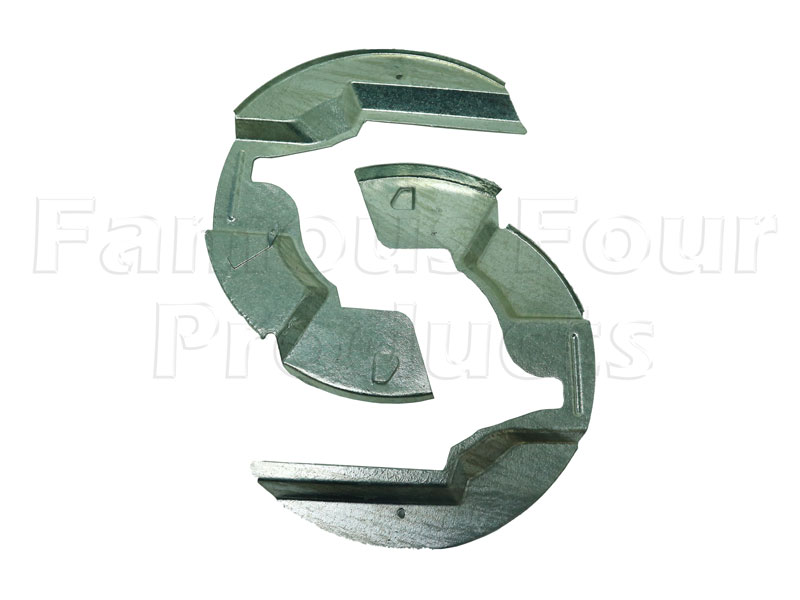 Brake Disc Shields - Front - Galvanised -  -