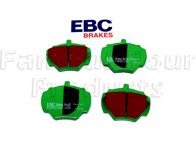 Rear Brake Pads - EBC Green Stuff -  -